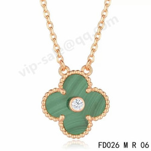 van cleef & arpels Alhambra necklace replica