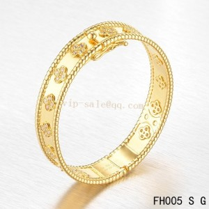 van cleef perlee bracelet replica sold online shop