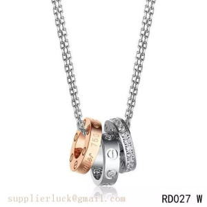 Cartier love necklace replica as a wedding necklace for lover