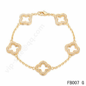 van cleef & arpels bracelet replica offer in anychic.com shop