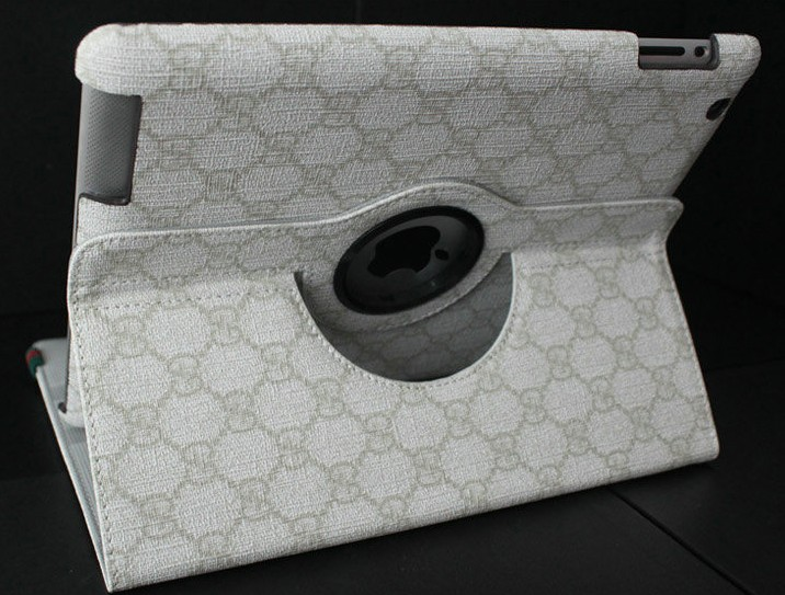 protective sleeve ipad 2 ipad 3 GUCCI dimensional flower holster super po with stand