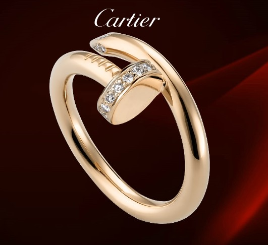 Cartier Juste Un Clou Ring Diamonds