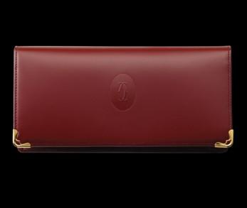 Must de Cartier international wallet red