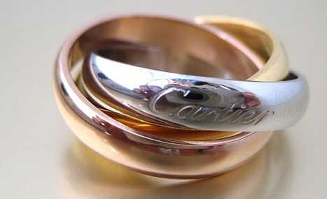 trinity ring by cartier
