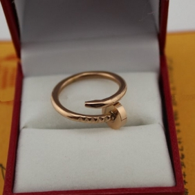 Cartier Juste Un Clou ring pink gold