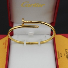 Cartier Juste Un Clou diamonds bracelet yellow gold