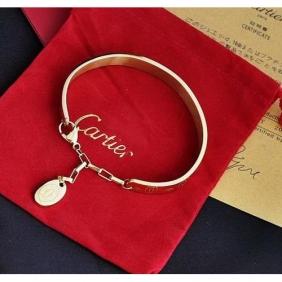 Imitation Collection logo Cartier bracelet yellow gold double C Motif