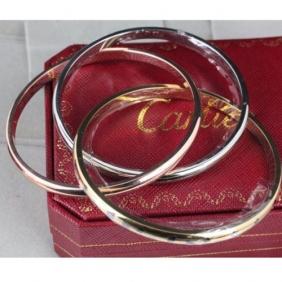 Replica Cartier Trinity Bracelet 3-Gold Lacquer