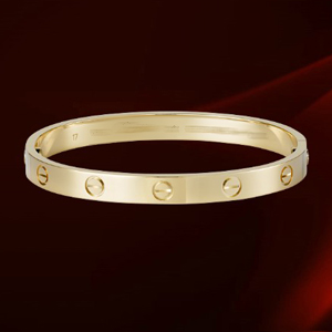 Cartier Love bracelet yellow gold Mens 21cm
