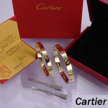 Cartier Leve Lovers Bangles Yellow Gold (Double)