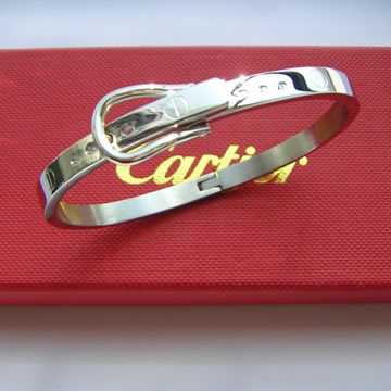 Cartier Love Leve Bangle White gold
