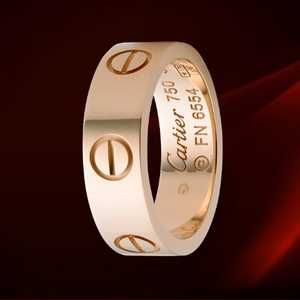 Cartier Pink Gold Love Ring