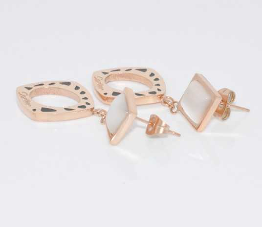 Cartier Rose Gold Earrings