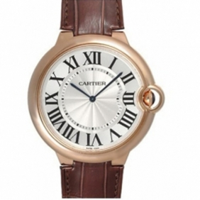 Replica Cartier Ballon Bleu Rose Gold Extra Flat Automatic Mens Watch