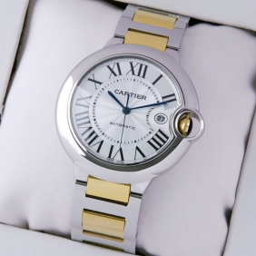Cartier Ballon Bleu de Cartier Two-Tone Mens replica Replica Watches W69009Z3