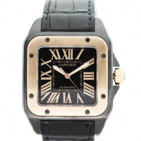 Hot Sale 2013 Fashion Stainless Steel Cartier Santos Mens Watch Replica