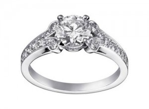 Proposed Cartier diamond ring picture