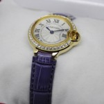 Fake Cartier Ballon Bleu de Cartier Diamonds 18kt Yellow Gold Ladies Watches WE900251