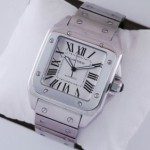 Fake Cartier Santos 100 Stainless Steel Extra Large XL Mens Watches W200737G