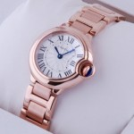 Replica Cartier Ballon Bleu 18kt Pink Gold Small Ladies Watches W69002Z2