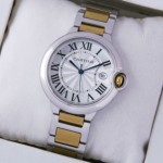 Replica Cartier Ballon Bleu de Cartier Midsize Two-Tone Yellow Gold Unisex Watches best
