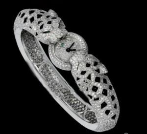 Rep[lica Cartier Panther bracelet