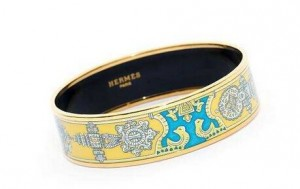 Hermes Enamel Bracelet Art Is Not To Be