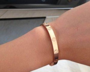 cartier yellow gold bracelets