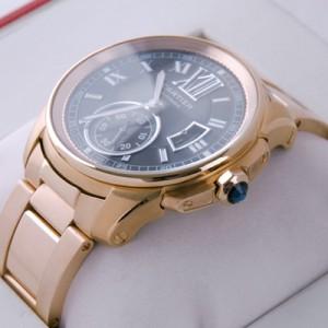 Cartier Calibre de Cartier 18kt Rose Gold Brown Dial Automatic