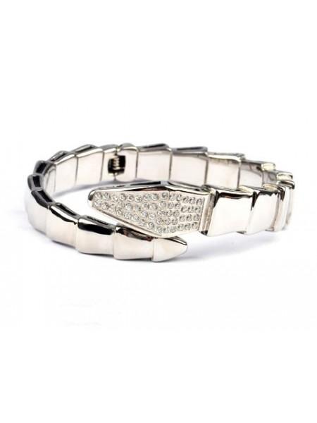 Bvlgari Serpenti bracelet in 18kt White gold with Black Onyx