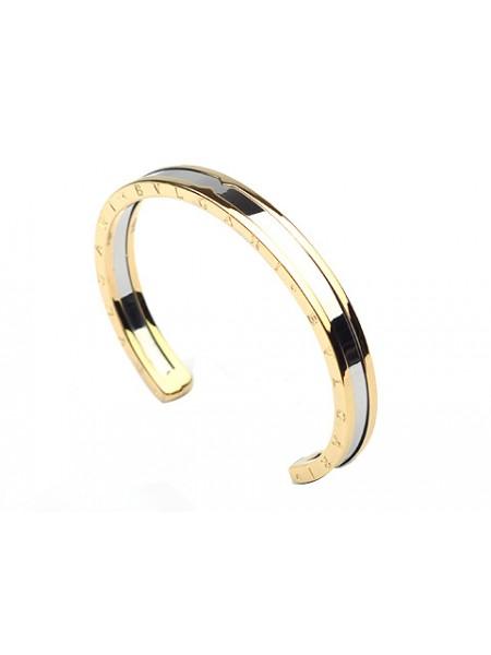 Bvlgari B.zero1 Bracelet in 18kt Yellow Gold and White Gold