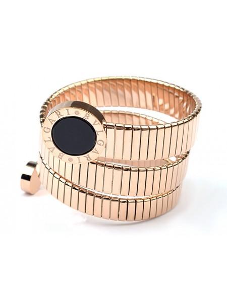 Bvlgari Serpenti bracelet in 18kt Pink gold with Black Onyx