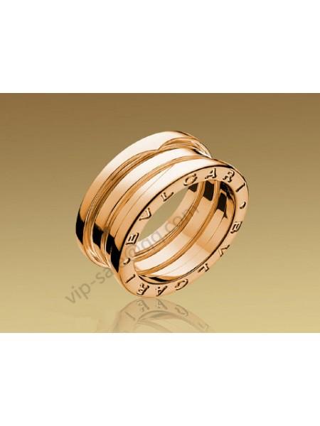 Bvlgari B.zero1 3 Band Ring in 18kt Pink Gold