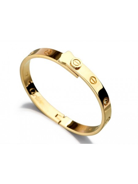 Cartier Love bracelet in yellow gold with diamonds