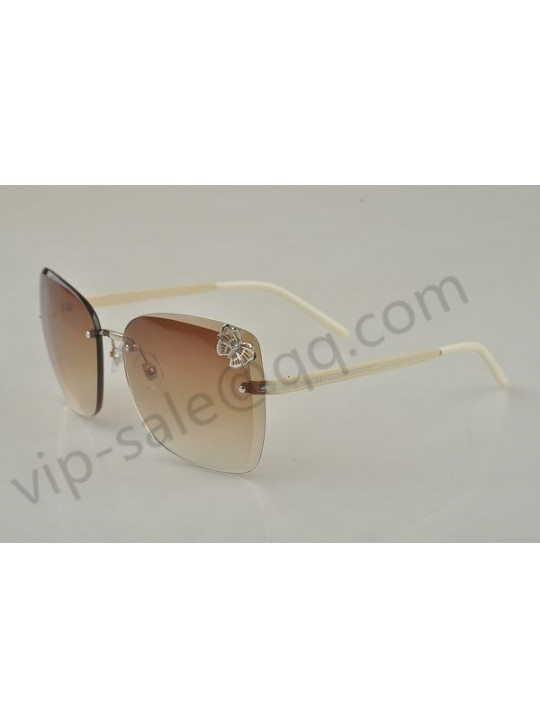 Gucci large rimless candy coloured series sunglasses