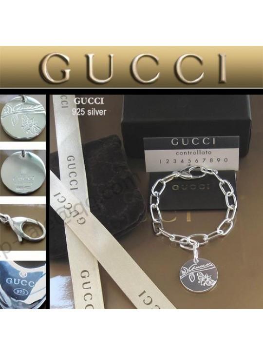 Gucci Flower Goddess Tag Bracelet