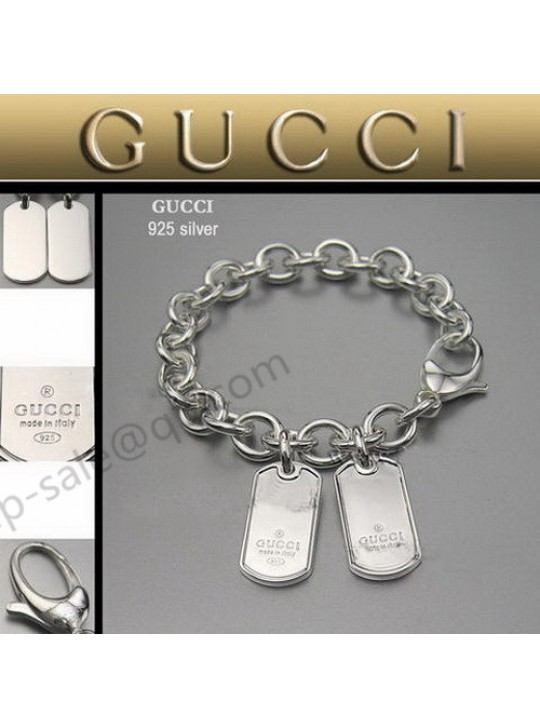 Gucci Bracelet With Dog Tag
