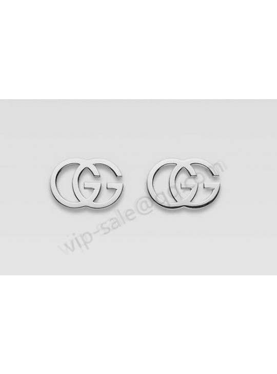 "Gucci Double ""G"" Earrings"