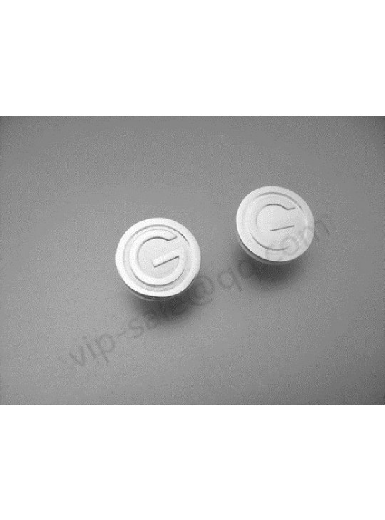 Gucci Round G Logo Silver Earrings