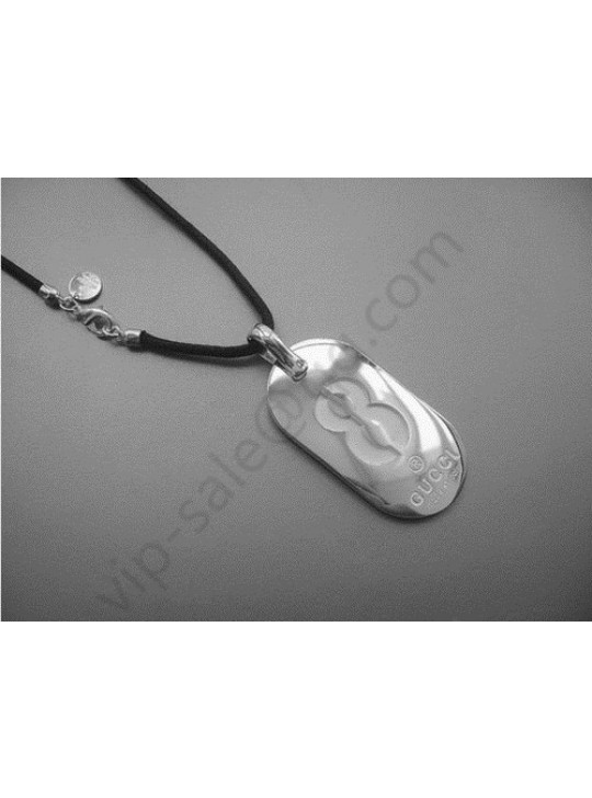 Gucci sterling silver Necklace Outlet
