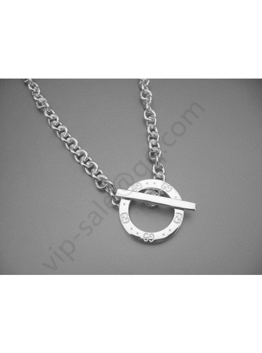 Gucci Circle Toggle Necklaces