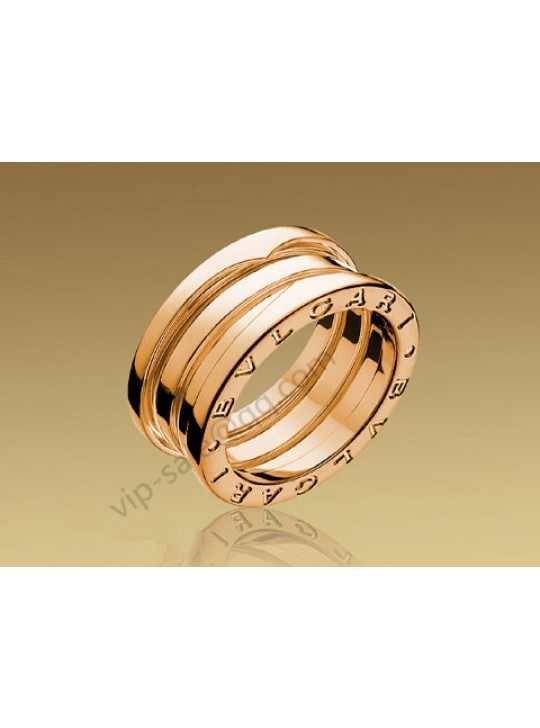 Bvlgari B.zero1 3 Band Ring in 18kt Pink Gold