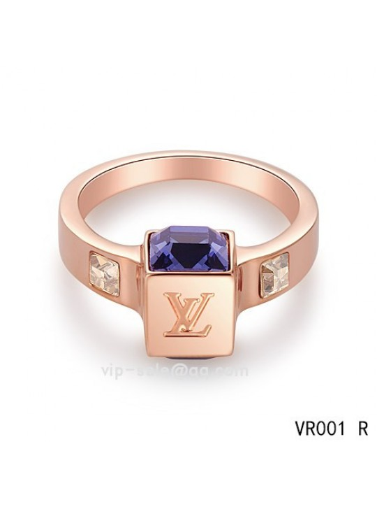 Louis Vuitton Gamble Ring in the pink gold