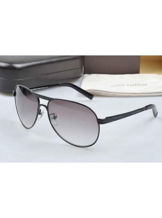 Louis Vuitton Attitude sunglasses,black metal frame
