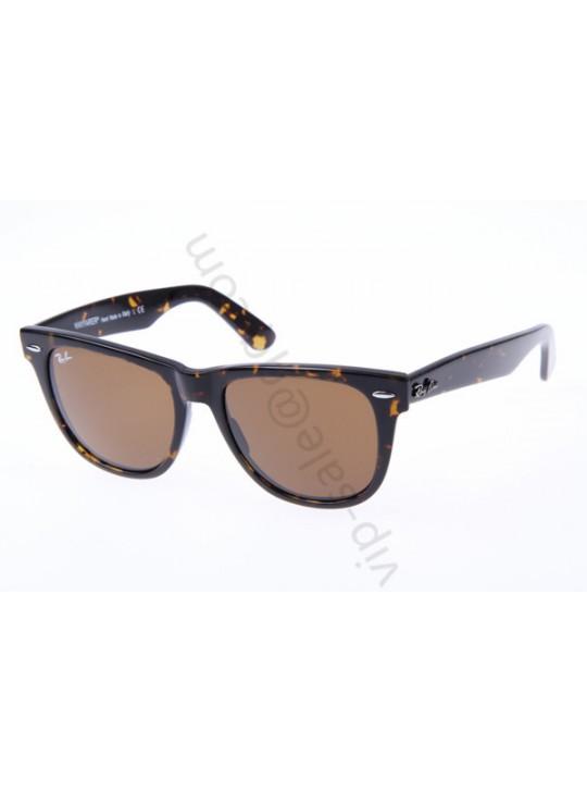 Ray Ban Wayfarer RB2140 54-18 Sunglasses In Tortoise 902 57