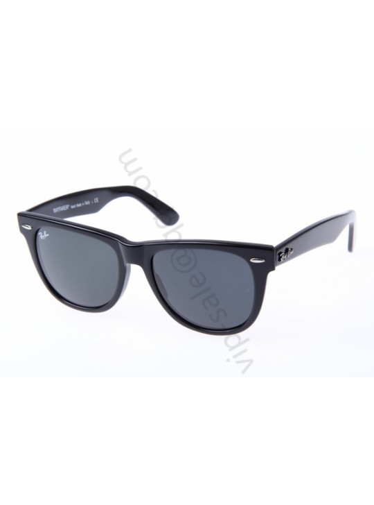 Ray Ban Wayfarer RB2140 54-18 Sunglasses in Black 901A