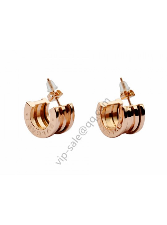 Bvlgari B.zero1 Earrings in 18kt Pink Gold