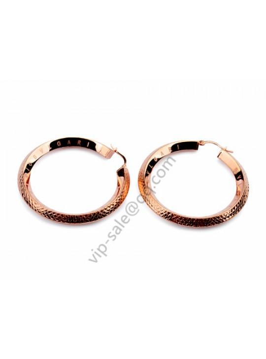 Bvlgari B.zero1 Round earrings in 18 kt ross gold replica
