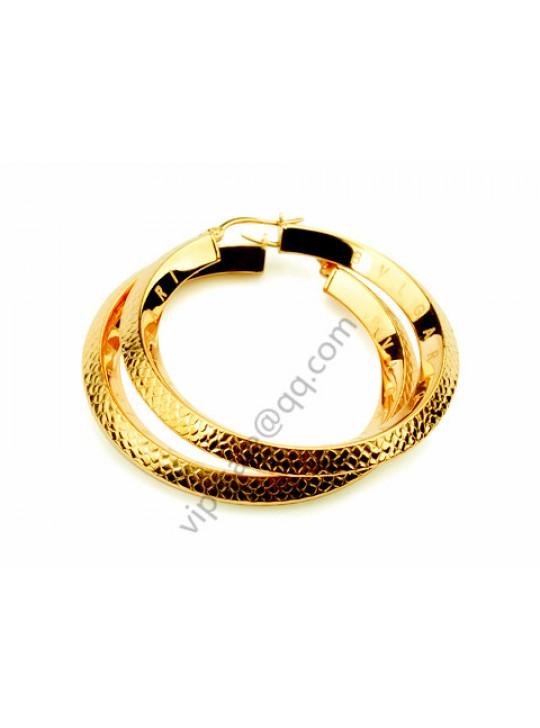 Bvlgari B.zero1 Round earrings in 18 kt yellow gold replica