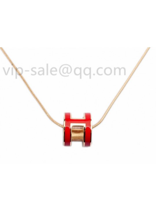 The hermes jewelry replica shop roll out cheap hermes H necklace